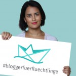 Ein Zeichen setzen- #bloggerfuerfluechtlinge